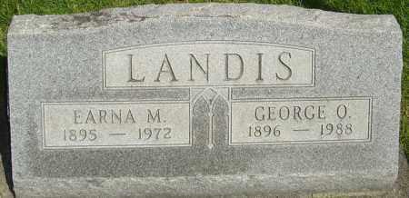 LANDIS, GEORGE - Montgomery County, Ohio | GEORGE LANDIS - Ohio Gravestone Photos