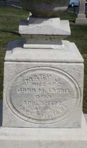 LANDIS, MARY - Montgomery County, Ohio | MARY LANDIS - Ohio Gravestone Photos