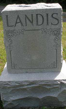 LANDIS, MONUMENT - Montgomery County, Ohio | MONUMENT LANDIS - Ohio Gravestone Photos