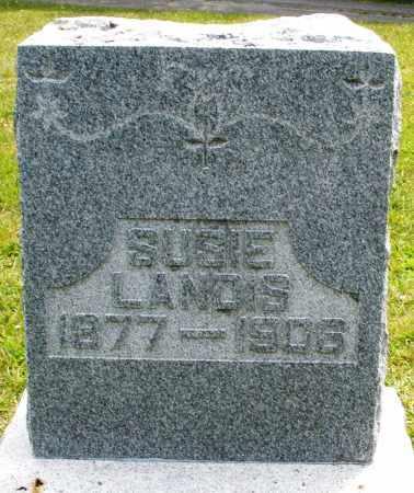 LANDIS, SUSIE - Montgomery County, Ohio | SUSIE LANDIS - Ohio Gravestone Photos