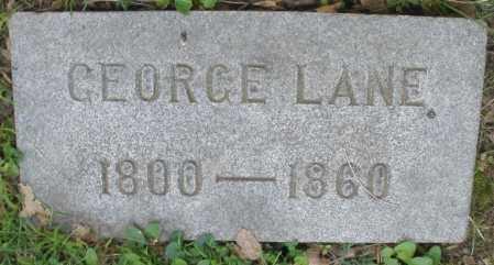 LANE, GEORGE - Montgomery County, Ohio | GEORGE LANE - Ohio Gravestone Photos