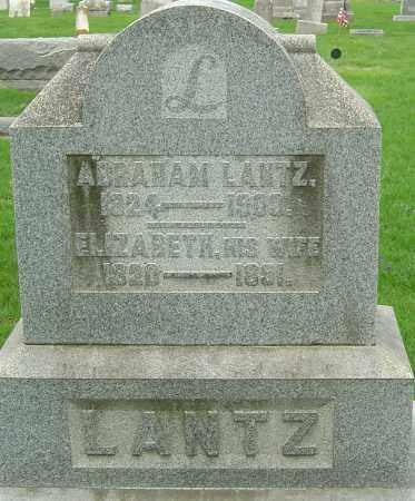 LANTZ, ABRAHAM - Montgomery County, Ohio | ABRAHAM LANTZ - Ohio Gravestone Photos