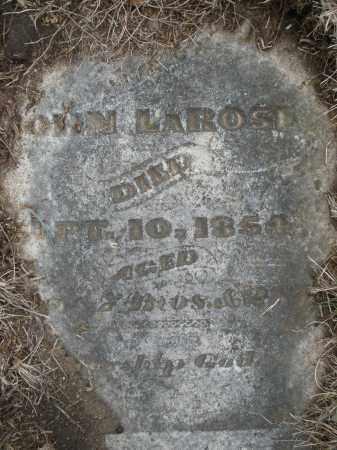 LAROSE, JOHN - Montgomery County, Ohio | JOHN LAROSE - Ohio Gravestone Photos