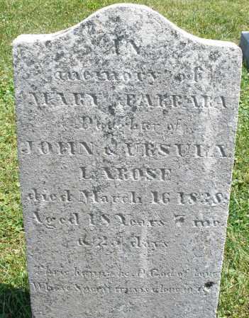LAROSE, MARY BARBARA - Montgomery County, Ohio   MARY BARBARA LAROSE - Ohio Gravestone Photos