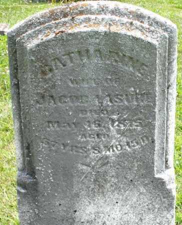 LASURE, CATHARINE - Montgomery County, Ohio   CATHARINE LASURE - Ohio Gravestone Photos