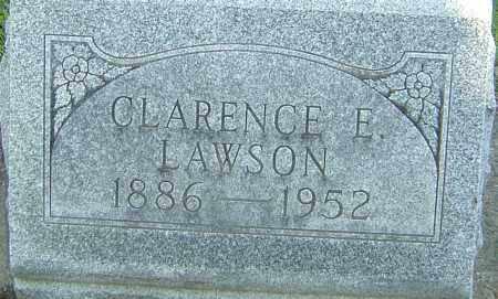LAWSON, CLARENCE - Montgomery County, Ohio | CLARENCE LAWSON - Ohio Gravestone Photos