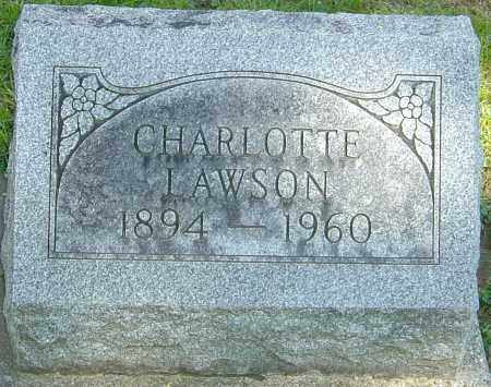 ANDREWS LAWSON, CHARLOTTE - Montgomery County, Ohio | CHARLOTTE ANDREWS LAWSON - Ohio Gravestone Photos