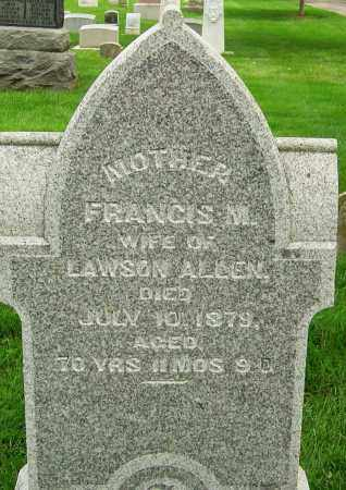 SILVERS LAWSON, FRANCIS M - Montgomery County, Ohio | FRANCIS M SILVERS LAWSON - Ohio Gravestone Photos
