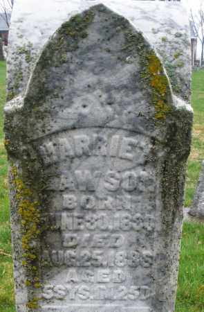 LAWSON, HARRIET - Montgomery County, Ohio | HARRIET LAWSON - Ohio Gravestone Photos