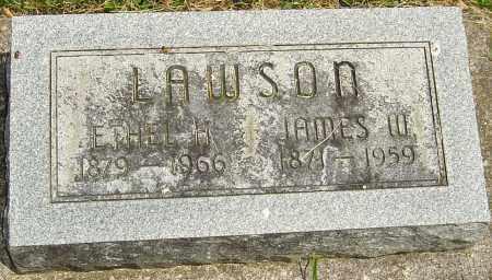 LAWSON, JAMES W - Montgomery County, Ohio | JAMES W LAWSON - Ohio Gravestone Photos