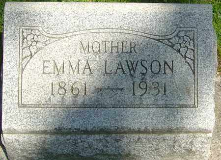 "LAWSON, SARAH EMALINE ""EMMA"" - Montgomery County, Ohio | SARAH EMALINE ""EMMA"" LAWSON - Ohio Gravestone Photos"