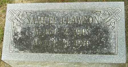 LAWSON, SAMUEL J - Montgomery County, Ohio | SAMUEL J LAWSON - Ohio Gravestone Photos