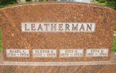 LEATHERMAN, HAZEL L. - Montgomery County, Ohio | HAZEL L. LEATHERMAN - Ohio Gravestone Photos