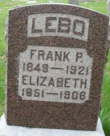 LEBO, ELIZABETH - Montgomery County, Ohio | ELIZABETH LEBO - Ohio Gravestone Photos