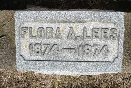 LEES, FLORA A. - Montgomery County, Ohio   FLORA A. LEES - Ohio Gravestone Photos