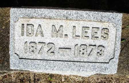 LEES, IDA M. - Montgomery County, Ohio | IDA M. LEES - Ohio Gravestone Photos