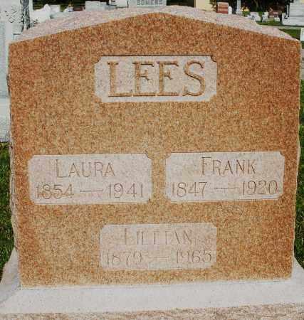LEES, LAURA - Montgomery County, Ohio   LAURA LEES - Ohio Gravestone Photos
