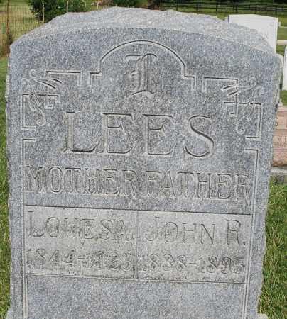 LEES, JOHN R. - Montgomery County, Ohio   JOHN R. LEES - Ohio Gravestone Photos