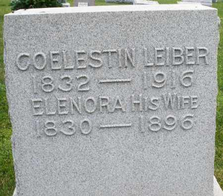 LEIBER, COELESTIN - Montgomery County, Ohio | COELESTIN LEIBER - Ohio Gravestone Photos