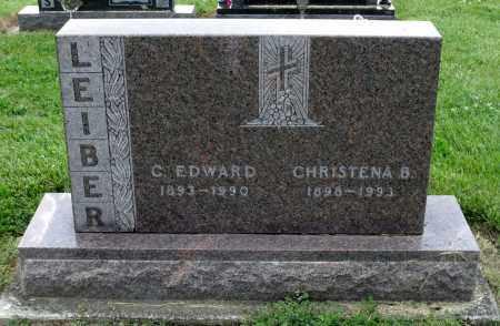LEIBER, CHRISTENA B. - Montgomery County, Ohio | CHRISTENA B. LEIBER - Ohio Gravestone Photos