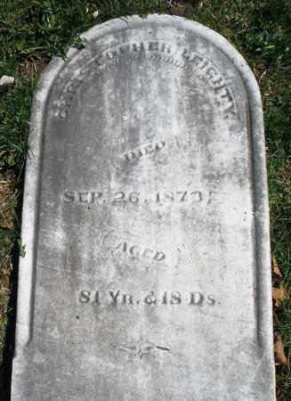 LEIGHTY, CHRISTOPHER - Montgomery County, Ohio | CHRISTOPHER LEIGHTY - Ohio Gravestone Photos