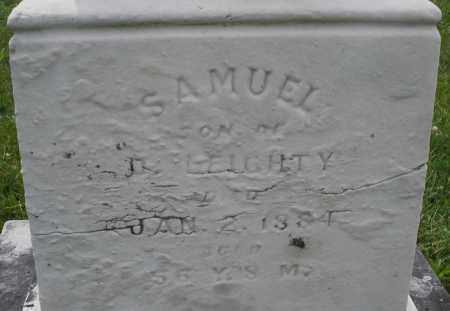 LEIGHTY, SAMUEL - Montgomery County, Ohio | SAMUEL LEIGHTY - Ohio Gravestone Photos
