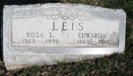 LEIS, EDWARD C. - Montgomery County, Ohio | EDWARD C. LEIS - Ohio Gravestone Photos