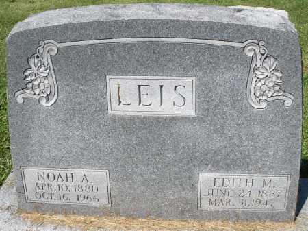 LEIS, NOAH A. - Montgomery County, Ohio | NOAH A. LEIS - Ohio Gravestone Photos