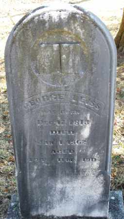 LEISS, GEORGE - Montgomery County, Ohio | GEORGE LEISS - Ohio Gravestone Photos