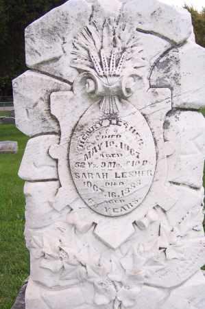 LESHER, HENRY - Montgomery County, Ohio | HENRY LESHER - Ohio Gravestone Photos