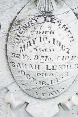 LESHER, HENRY - Montgomery County, Ohio   HENRY LESHER - Ohio Gravestone Photos