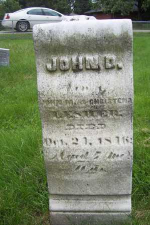 LESHER, JOHN D. - Montgomery County, Ohio | JOHN D. LESHER - Ohio Gravestone Photos