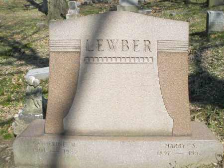 LEWBER, HARRY S. - Montgomery County, Ohio | HARRY S. LEWBER - Ohio Gravestone Photos