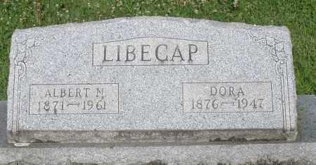 LIBECAP, ALBERT N. - Montgomery County, Ohio | ALBERT N. LIBECAP - Ohio Gravestone Photos