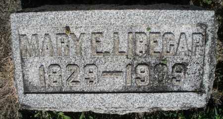 LIBECAP, MARY E. - Montgomery County, Ohio | MARY E. LIBECAP - Ohio Gravestone Photos