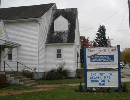 LIBERTY BAPTIST, CHURCH - Montgomery County, Ohio | CHURCH LIBERTY BAPTIST - Ohio Gravestone Photos