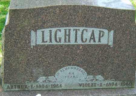 LIGHTCAP, VIOLET L - Montgomery County, Ohio | VIOLET L LIGHTCAP - Ohio Gravestone Photos