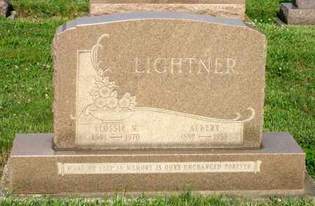 LIGHTNER, ALBERT - Montgomery County, Ohio | ALBERT LIGHTNER - Ohio Gravestone Photos