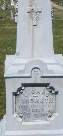 LINDMUTH, THOMAS - Montgomery County, Ohio | THOMAS LINDMUTH - Ohio Gravestone Photos