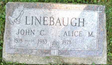 LINEBAUGH, JOHN C. - Montgomery County, Ohio   JOHN C. LINEBAUGH - Ohio Gravestone Photos