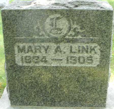 LINK, MARY A. - Montgomery County, Ohio | MARY A. LINK - Ohio Gravestone Photos