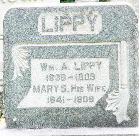 LIPPY, WILLIAM A. - Montgomery County, Ohio | WILLIAM A. LIPPY - Ohio Gravestone Photos