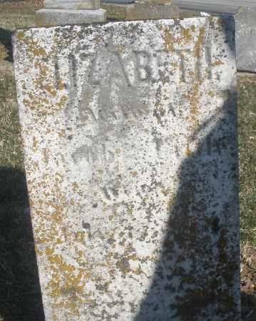 LITTLE, ELIZABETH - Montgomery County, Ohio   ELIZABETH LITTLE - Ohio Gravestone Photos