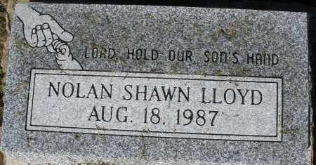 LLOYD, NOLAN SHAWN - Montgomery County, Ohio | NOLAN SHAWN LLOYD - Ohio Gravestone Photos