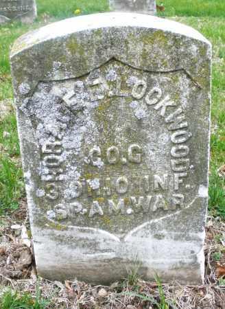 LOCKWOOD, HORACE - Montgomery County, Ohio   HORACE LOCKWOOD - Ohio Gravestone Photos