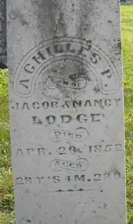 LODGE, ACHILLES P. - Montgomery County, Ohio   ACHILLES P. LODGE - Ohio Gravestone Photos