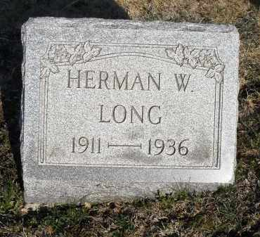 LONG, HERMAN W. - Montgomery County, Ohio | HERMAN W. LONG - Ohio Gravestone Photos