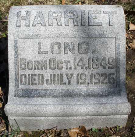 LONG, HARRIET - Montgomery County, Ohio | HARRIET LONG - Ohio Gravestone Photos