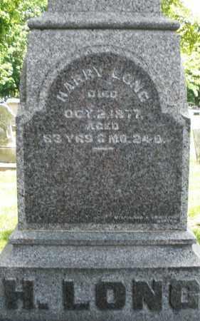 LONG, HARRY - Montgomery County, Ohio | HARRY LONG - Ohio Gravestone Photos