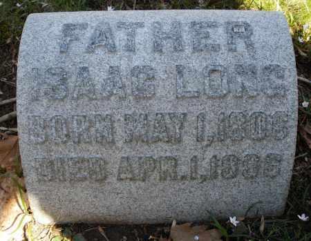LONG, ISAAC - Montgomery County, Ohio | ISAAC LONG - Ohio Gravestone Photos